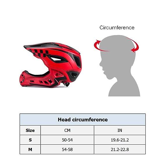 Amazon.com: Lixada1 - Casco de seguridad para niños de cara ...