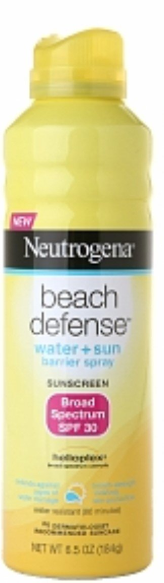 Neutrogena Beach Defense SPF 30 Spray 6.5 oz (Pack of 6)