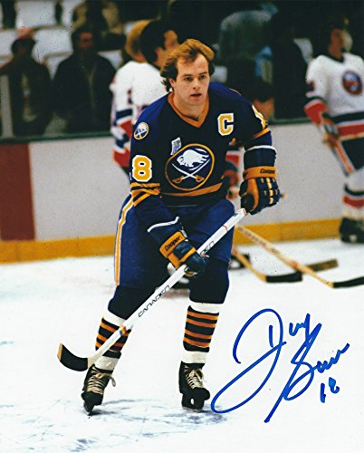 Autographed Danny Gare 8x10 Buffalo Sabres (Autographed Signed 8x10 Photo Sabres)