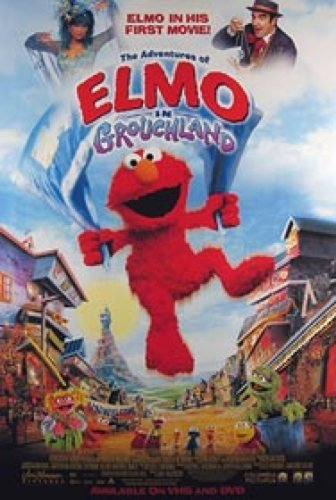 The Adventures Of Elmo In Grouchland Video 27X40 One Sheet Movie Poster Silverscreen