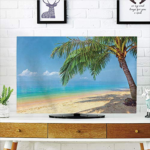 iPrint LCD TV Cover Multi Style,Landscape,Tropic Botanic Ima