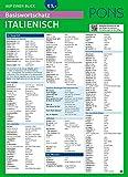 PONS Basiswortschatz auf einen Blick Italienisch: Kompakte Übersicht, ca. 1.000 Wörter nach Themen sortiert (PONS Auf einen Blick)