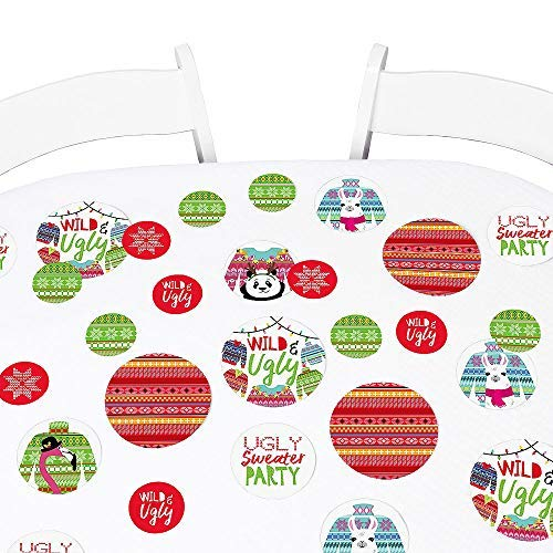 Big Dot of Happiness Wild and Ugly Sweater