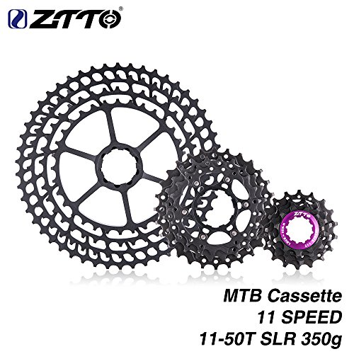 11 Speed Wide Ratio Super-Lightweight SLR Cassette 11-50 t by ZTTO by Ztto (Image #7)