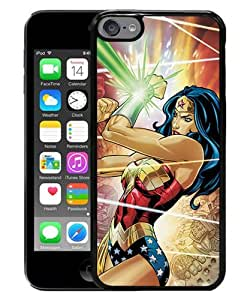 Popular iPod Touch 6 Case ,Beautiful And Durable Designed Case With Wonder Woman black iPod Touch 6 Screen Cover Custom Drsigned Phone Case