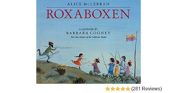 Roxaboxen: McLerran, Alice, Cooney, Barbara: 9780060526337: Amazon ...