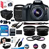 Canon EOS Rebel T6 DSLR Camera w/EF-S 18-55mm f/3.5-5.6 IS II Lens - Deal-Expo Advanced Accessories Bundle