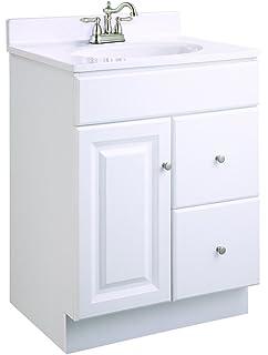 Design House 545004 Wyndham Ready To Assemble 1 Door/2 Drawer Vanity,