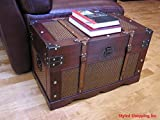 Styled Shopping Boston Wood Chest Wooden Steamer Trunk - Medium Trunk