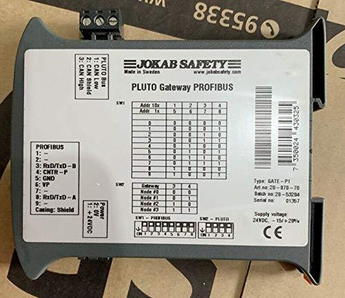 JOKAB SAFETY Pluto Gateway PROFIBUS GATE-P1New in Box One Year Warranty