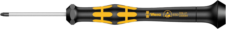 Noir//jaune Wera 05030083001 1572 ESD Tournevis Kraftform MicroMicrostix 0 x 40 mm