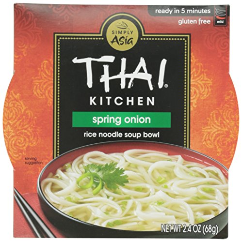 Spring Onion Noodle - Thai Kitchen Noodle Bowl, Spring Onion, 2.4 oz