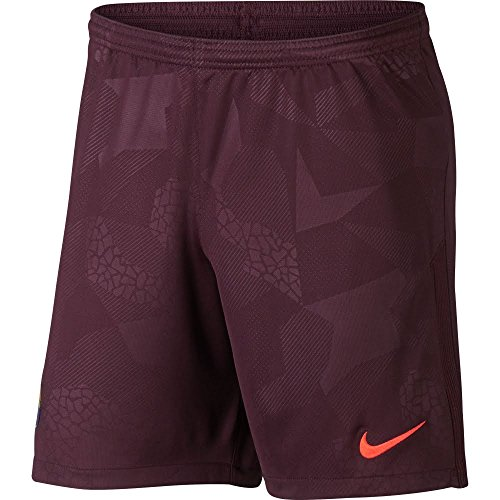2017-2018 Barcelona Third Nike Football Shorts (Night Maroon) – DiZiSports Store