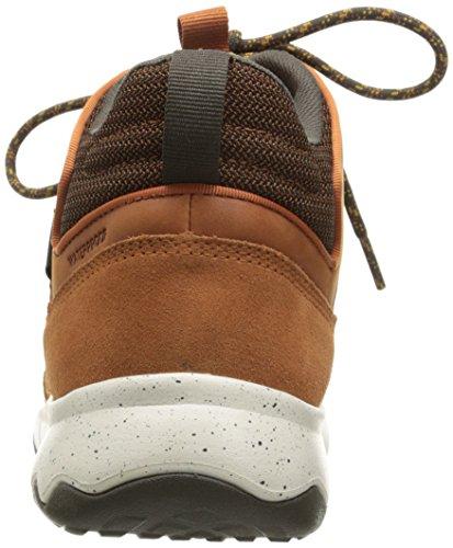 Teva Arrowood Lux Mid Wp, Zapatos de High Rise Senderismo para Hombre Marrón (Cognac- Cogcognac- Cognac)