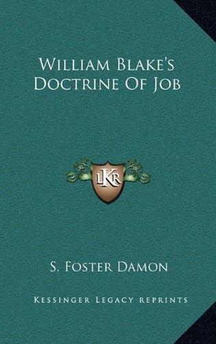William Blake's Doctrine of Job