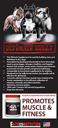 Ultimate Bully Maximum Performance Canine Supplement 5