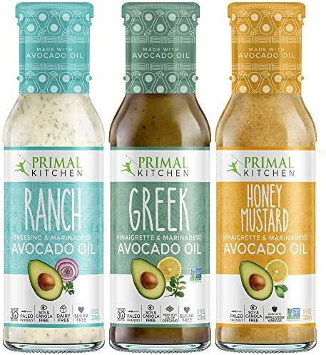 Salad Dressing & Toppings: Primal Kitchen Variety