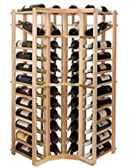 Vintner Series 44 Bottle Wine Rack Finish Midnight Black