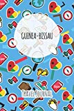 Guinea-Bissau Travel Journal: 6x9 Travel planner I Road trip planner I Dot grid journal I Travel notebook I Travel diary I Pocket journal I Gift for Backpacker