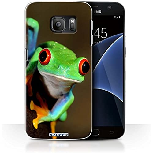STUFF4 Phone Case / Cover for Samsung Galaxy S7/G930 / Frog Design / Wildlife Animals Collection Sales