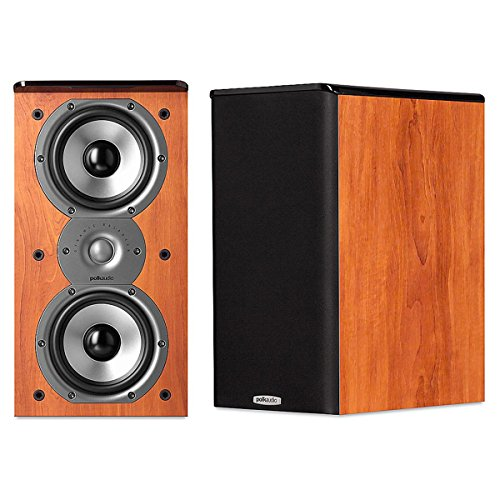 Polk Audio TSi200 Bookshelf Speakers (Pair, Cherry)