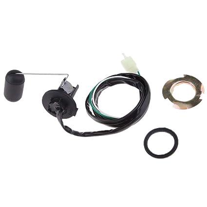 Sharplace Kit de Nivel de Flotador de Sensor de Tanque de Combustible Para Motocicleta