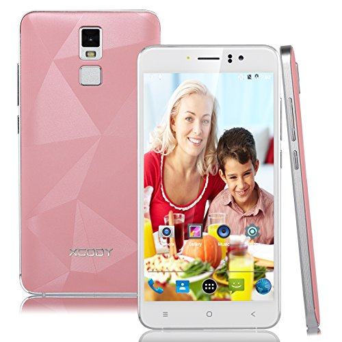 Xgody D10 Unlocked Smartphone 5.5 Inch Android 5.1 Quad Core