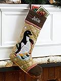 Christmas Stocking Cabin Series Penguin