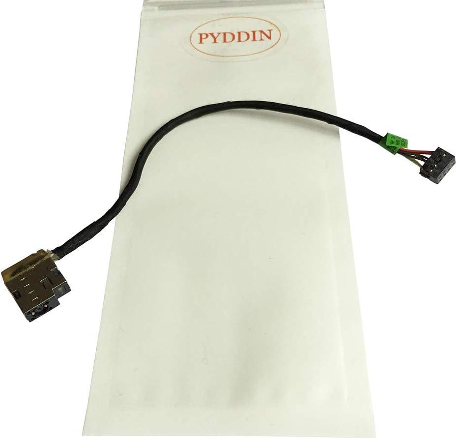 PYDDIN New Laptop DC Power Jack with Cable/Harness for HP Pavilion 15-E018nr 15-E028us 15-E037cl 15-E041ca 15-E053ca 15-E065nr 15-E072nr 15-E085nr 15-E180nr P/N: 719859-001 709802-YD1 CBL00360-0150