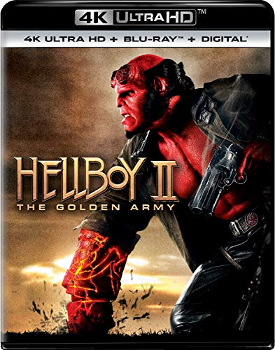 Hellboy II Golden Army Movie POSTER ART Licensed Adult Heather T-Shirt All Sizes