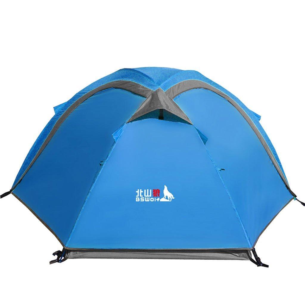 Outdoor-Camping-Zelt Doppelstock Multiplayer-Aluminium-Stange Paar Campingzelt Wetter Four Seasons Tented