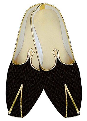 Zapatos Gales Marrón INMONARCH MJ011204 Diseño Boda Hombres tH4WqO
