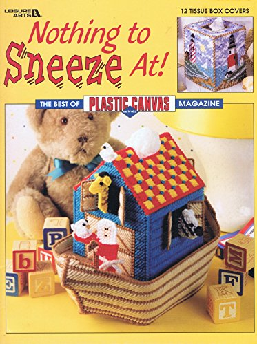 Nothing to Sneeze At: Tissue Box Cover Plastic Canvas (Leisure Arts)