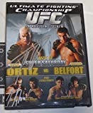 Tito Ortiz & Tim Sylvia Signed UFC 51 2005 DVD vs Vitor Belfort MMA Autograph - Autographed UFC Miscellaneous Products review