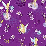 Crafty Cuts 2 Yards Cotton Fabric, TinkerBell on Spot