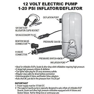 AIRHEAD AHSUP-A022 Super High 12V/20 PSI Pressure Air Pump