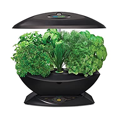 Miracle-Gro AeroGarden 7 Indoor Garden with Gourmet Herb Seed Kit, Black (Discontinued by Manufacturer)