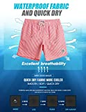 maamgic Mens Stripe Swim Trunks Slim Fit Swimming