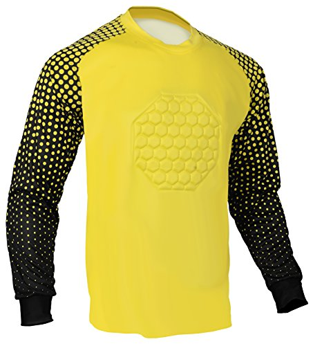 - Total Soccer Factory Soccer Goalie Shirt (Yellow, Youth Medium)