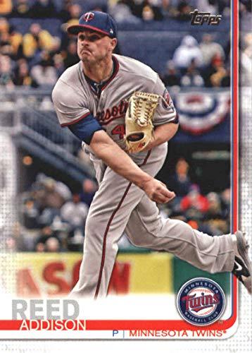 2019 Topps Series 1 Baseball #193 Addison Reed Minnesota Twins Official MLB Trading Card