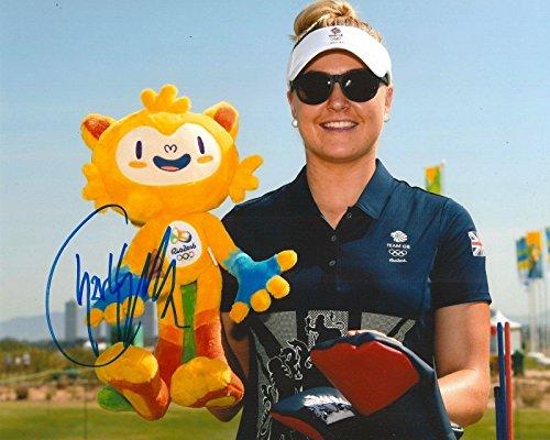 Charley Hull Signed Photo - 8x10 RIO OLYMPICS GREAT BRITAIN COA E - Autographed Golf Photos
