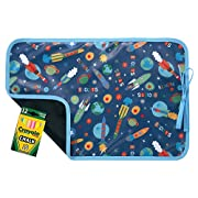 AM PM Kids! Reversible Placemat/Chalkboard, Outer Space