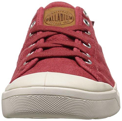 Palladium Pallarue Lc, Men's Low-Top Sneakers Red Ochre