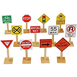 Marvel MTC-924 Deluxe International Traffic Signs