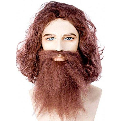[Caveman Guy Brown Costume Wig] (Halloween Costumes Brown Guy)