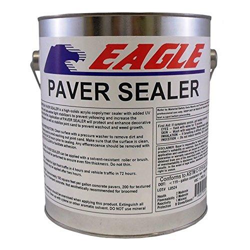 Paver Sealer (Eagle Sealer EPS1 Clear Paver Sealer, 1 gal Can,(State Sales Restrictions))