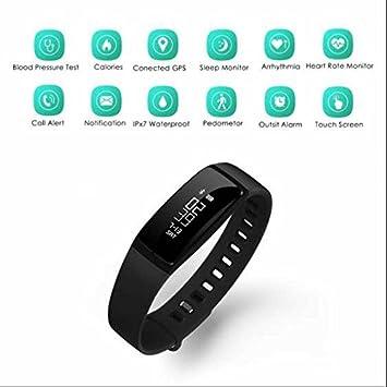 Actividad Tracker, contador de calorías, llamada SMS WhatsApp reloj inteligente, Smartwatch salidas para