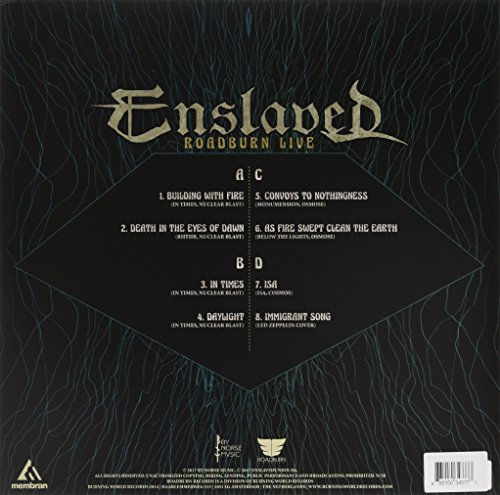 Enslaved - Roadburn Live (Green Vinyl) [No USA] (Colored Vinyl, Green, United Kingdom - Import, 2PC)