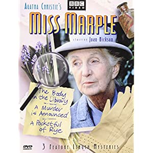 Miss Marple - 3 Feature Length Mysteries (The Body in the Library / A Murder Is Announced / A Pocketful of Rye) (2002)
