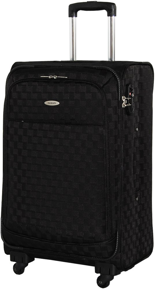 [SENATO セナート] スーツケース 3サイズ 中型( ML M )小型( S SS ) TSAダイヤルロック 機内持込 超軽量 ソフトキャリーケース キャリーバッグ B00PJL4G14 S|ブラック ブラック S